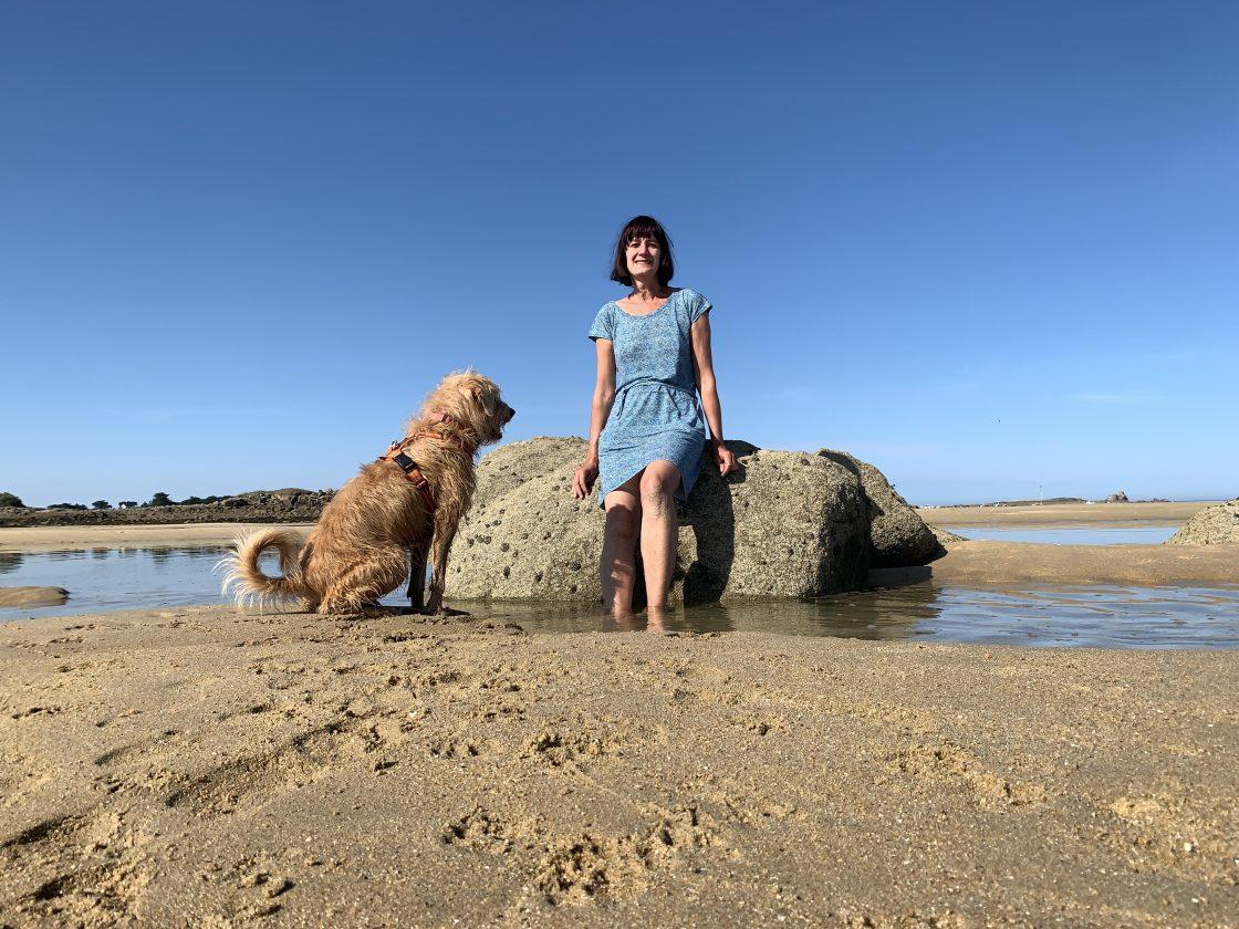 ik en hond